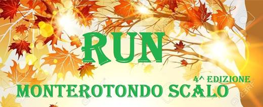 Run Monterotondo Scalo